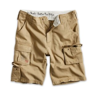 Krátke nohavice RAW VINTAGE SURPLUS® Trooper Shorts - coyote