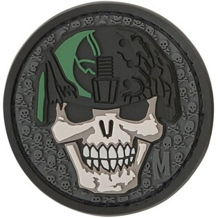 Nášivka MAXPEDITION® Soldier Skull - swat