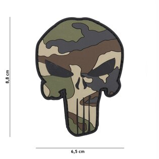 Nášivka Punisher French 101INC® - Camo