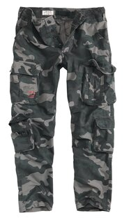 Nohavice SURPLUS® Airborne Slimmy - black camo