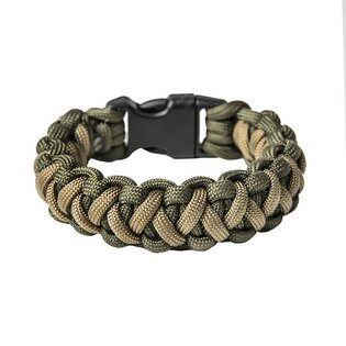 Paracord náramek Basic - Army Green