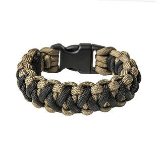 Paracord náramek Basic - Coyote Brown