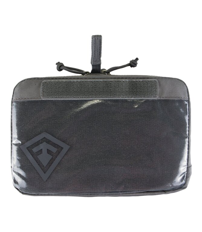 Puzdro Velcro 9x6 First Tactical® - sivé
