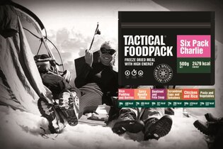 Sada dehydrovaného jedla Tactical Foodpack® Tactical Six Pack Charlie