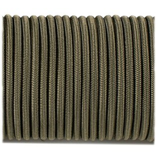 Shock Cord elastické lanko 3.6 mm - Army Green
