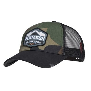 Šiltovka Era Trucker Born for action PENTAGON® - US woodland