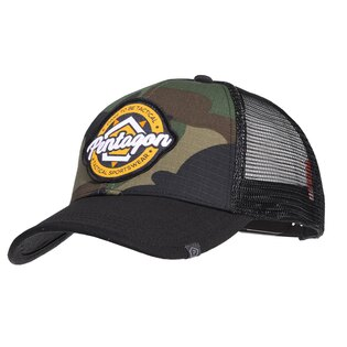 Šiltovka Era Trucker Tactical Sportswear PENTAGON® - US woodland
