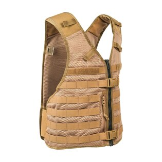 Taktická molle vesta Tasmanin Tiger® Base MK II Plus - Coyote Brown