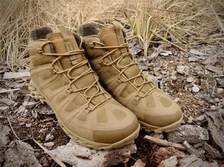 Topánky AKU Tactical® Selvatica Mid GTX® - coyote