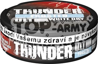 Žuvací tabak THUNDER® ULTRA Chewing Bags FROSTED White Dry 13,2 g