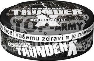 Žuvací tabak THUNDER® X Chewing Bags FROSTED 13 g